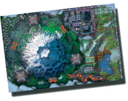 Fuji Koro - Spielmatte