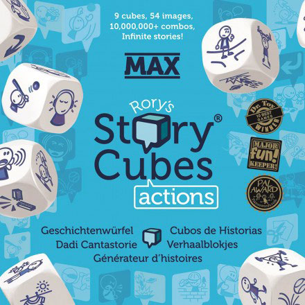 Story Cubes Max Actions