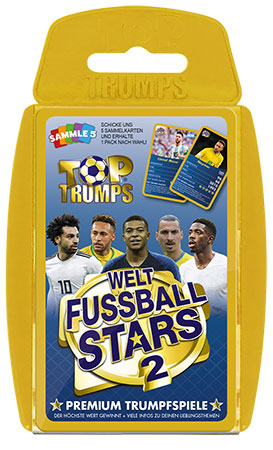 TOP TRUMPS Weltfußball Stars 2