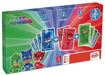 PJ Mask - Spielebox 3 in 1