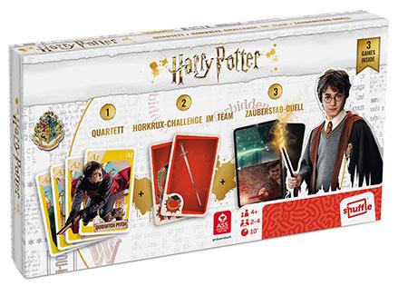 Harry Potter - Spielebox 3 in 1