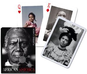 African America Spielkarten
