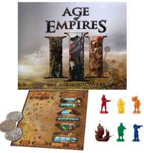 Age of Empires III – Das Zeitalter der Entdeckungen [Brettspiel] für 24,99 €