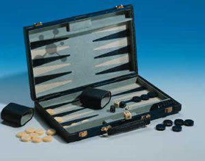 Backgammon Koffer Velour (634581)
