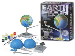 Bastelset Erde/Mond