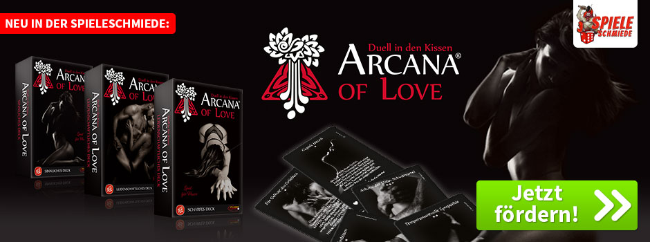 Es knistert in der Spieleschmiede: Arcana of Love