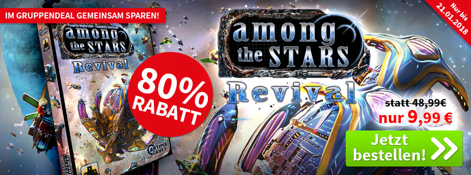 Aktion, nur bis 21.01.2018: Among The Stars: Revival (engl.)