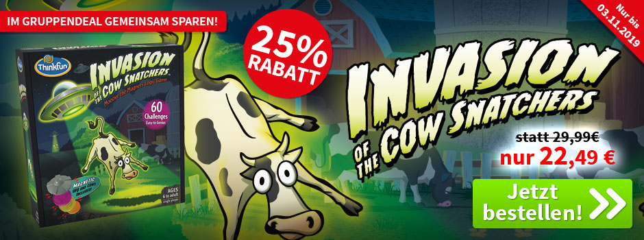 Aktion, nur bis 03.11.2019: Invasion of the Cow Snatchers