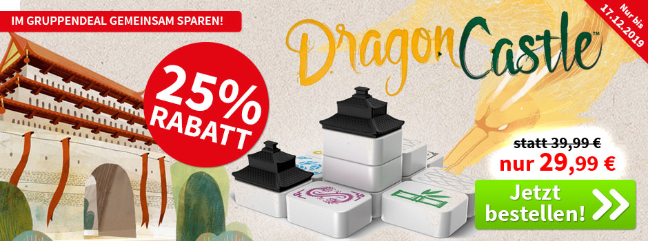Aktion, nur bis 17.12.2019: Dragon Castle