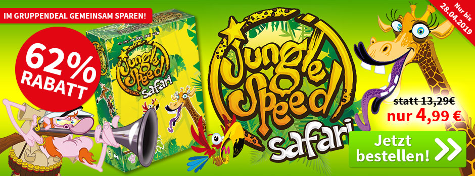 Aktion, nur bis 28.04.2019: Jungle Speed Safari