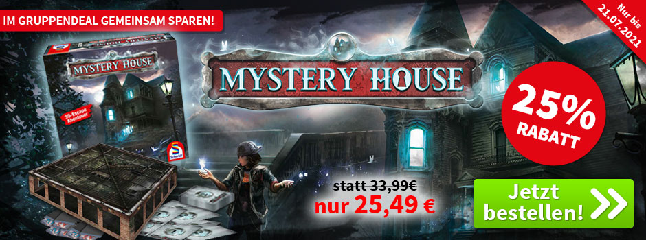 Aktion, nur bis 14.06.2020: Mystery House