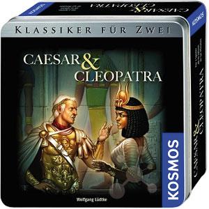 Caesar und Cleopatra - Metallbox
