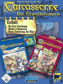 Carcassonne Spiel Erweiterungen