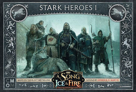 A Song of Ice & Fire: Stark Heroes 1 Erweiterung