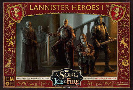 A Song of Ice & Fire - Lannister Heroes 1 Erweiterung