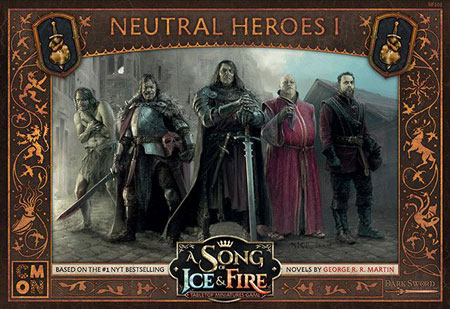 A Song of Ice & Fire - Neutral Heroes 1 Erweiterung