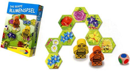 Das bunte Blumenspiel