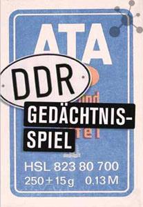 ATA - DDR Gedächtnisspiel