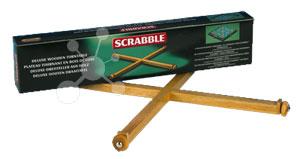 Scrabble - Deluxe Drehteller aus Holz