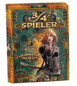 Dungeon Twister 3/4 Spieler Erweiterung