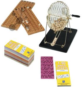 Exklusives Bingo Set