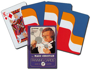 Magic Fanning Cards red to blue
