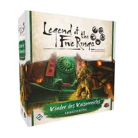 Legend of the 5 Rings - Das Kartenspiel - Kinder des Kaiserreichs Erweiterung