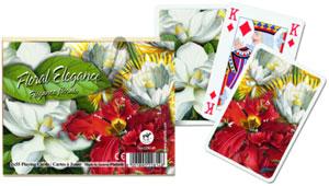 Floral Elegance Spielkarten