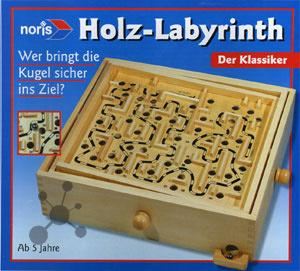 Holz-Labyrinth