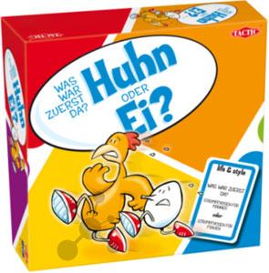 Was war zuerst da - Huhn oder Ei?