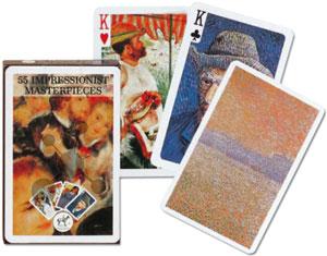 Impressionist Masterpieces Spielkarten