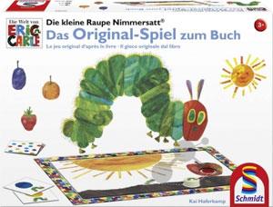 Die kleine Raupe Nimmersatt - Das Original-Spiel zum Buch