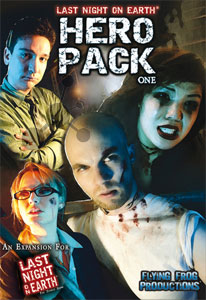 Last Night on Earth - Hero Pack One (engl.)