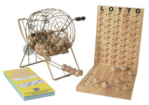 Longfield Bingo/Lotto Komplettset