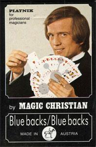 Magic Standardbridge Spielkarten Blue/Blue