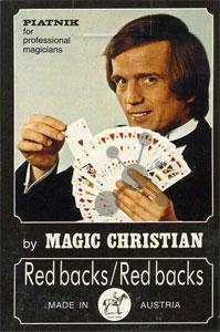 Magic Bridge Spielkarten Red/Red