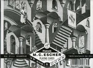 Escher - Up & Down Spielkarten