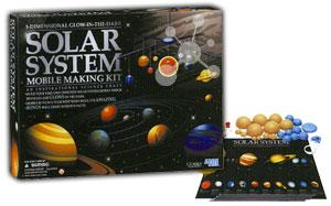 Solar-Sonnensystem Mobile Bastelset