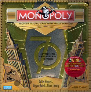Monopoly 70th Anniversary Edition