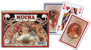 Mucha - Dreams Spielkarten