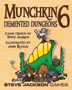 Munchkin 6 - Demented Dungeons (engl.)