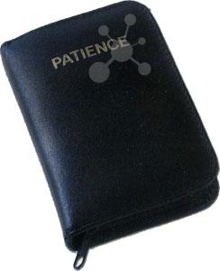 Patience Classic im Lederetui