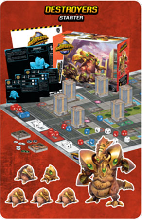 Monsterpocalypse – Destroyers Starter Set (engl.)