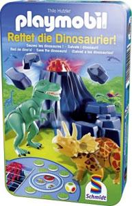 Playmobil - Rettet die Dinosaurier! Metalldose