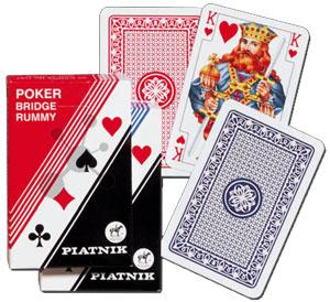 Poker, Bridge, Rummy in Faltschachtel