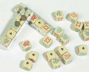 Pokerwürfel (5 Stück)
