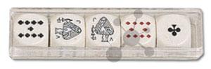 Pokerwürfel 16 mm (5 Stück)