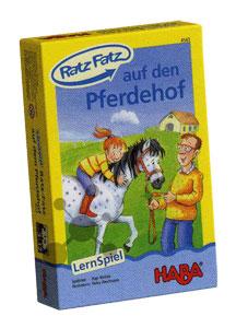 Ratz Fatz auf den Pferdehof