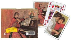 Renoir - Piano Lesson Spielkarten