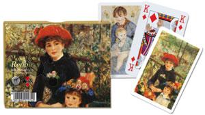 Renoir - Red Hat Spielkarten